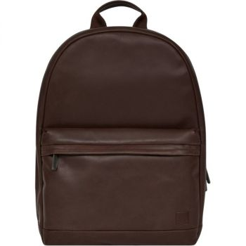 Knomo Albion Carrying Case (Backpack) for 15 Notebook - Brown, Gunmetal - Full Grain Leather - Shoulder Strap, Handle - 16.9 Height x 14.1 Width x 4.3 Depth