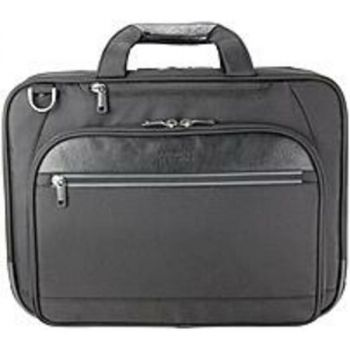 Reaction 539415BB Carrying Case for 15.6 Notebook - Black - 1680D Polyester, Polyurethane Trim - Handle, Trolley Strap