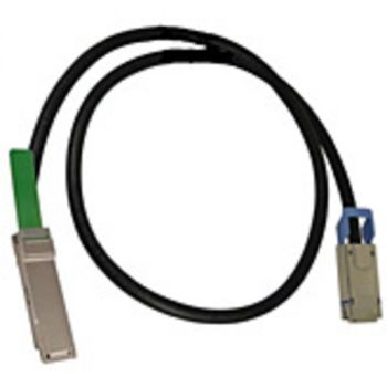 HPE 670759-B24 Infiniband Network Cable - 6.60 ft Network Cable for Network Device - First End: 1 x QSFP - Second End: 1 x SFF-8470 Network