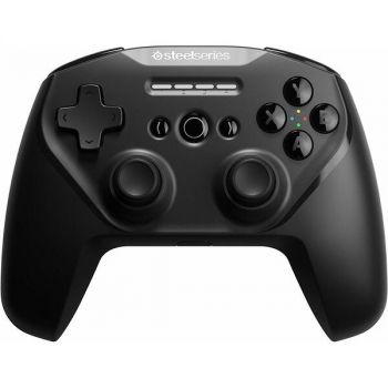 SteelSeries 69075 Stratus Duo Wireless Gaming Controller for Windows - Android - Mac - iOS - Apple TV - 2.4 GHZ - Bluetooth v4.1 - Black