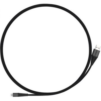OtterBox 3m Micro USB Cable - 9.84 ft Micro-USB/USB Data Transfer Cable - First End: 1 x Micro Type A Male Micro USB - Second End: 1 x Type A Male USB - Black