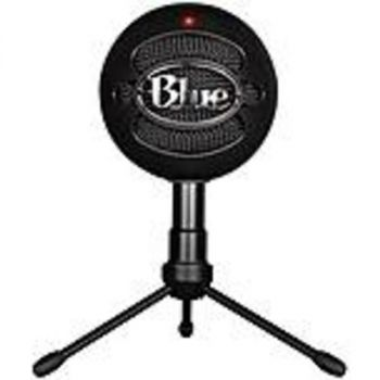 Blue Snowball iCE Wired Condenser Microphone - 40 Hz to 18 kHz - Cardioid - Stand Mountable - USB
