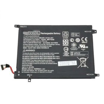 HP DO02XL Laptop Battery - 33Wh - 8390mAh - 3.8 Volts - Lithium-Ion - 2-Cell - Black