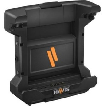 Havis Docking Station for Dell's Latitude 12 Rugged Tablet with Power Supply - for Tablet PC - Proprietary Interface - 3 x USB Ports - 1 x USB 2.0 - 2 x USB 3.0 - Network (RJ-45) - VGA - DisplayPort - Audio Line Out - Microphone - Docking