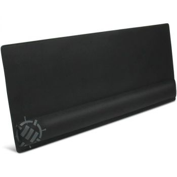 ENHANCE ENPCPXW100BOEW Keyboard and Mouse Pad with Wrist Pillow - XXL - Memory Foam - Non-slip Rubber - Black