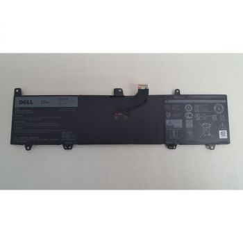 Dell JV6J Laptop Battery - Lithium-Ion - 32Wh Capacity - 7.6 Volts - 4 Cell - Black