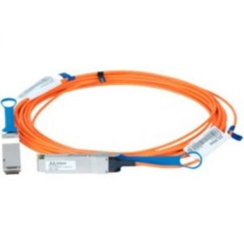 Mellanox Active Fiber Cable, ETH 100GbE, 100Gb/s, QSFP, 20m - 65.62 ft Fiber Optic Network Cable for Network Device, Switch - First End: 1 x QSFP Network - Second End: 1 x QSFP Network - 100 Gbit/s