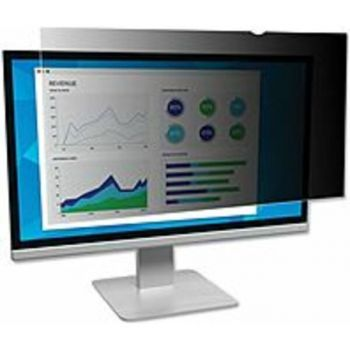 3M PF250.W9B Privacy Filter for 25 Widescreen Monitor - For 25 Widescreen Monitor - 16:9