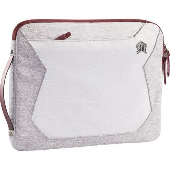 STM Goods Myth Carrying Case (Sleeve) for 15 to 16 Apple Notebook, MacBook - Windsor Wine - Water Resistant - Fabric, Polyurethane, Fleece, Polyester, Thermoplastic Polyurethane (TPU) Handle - Shoulder Strap, Handle - 10.6 Height x 15.2 Width x 0.8 D