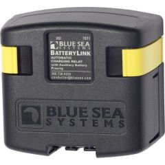 Blue Sea 7611 DC BatteryLink™ Automatic Charging Relay - 120 Amp w/Auxiliary Battery Charging