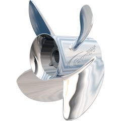 """Turning Point Express® Mach4™ - Left Hand - Stainless Steel Propeller - EX-1419-4L - 4-Blade -14"""" x 19 Pitch"""