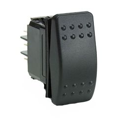 Cole Hersee Rocker Switch DPST On-Off 4 Blade