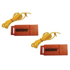 Orion Safety Whistle w/Lanyards - 2-Pack