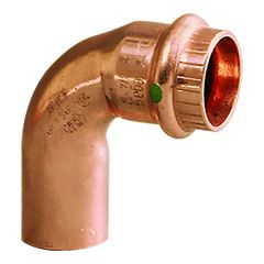 """Viega ProPress 3/4"""" - 90° Copper Elbow - Street/Press Connection - Smart Connect Technology"""