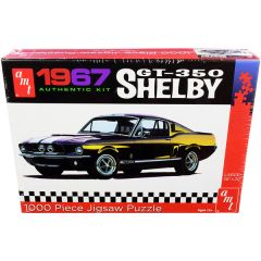 Jigsaw Puzzle 1967 Ford Mustang Shelby GT350 MODEL BOX PUZZLE (1000 piece) by AMT AWAC009-SHELBY