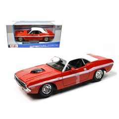 1970 Dodge Challenger R/T Coupe Red 1/24 Diecast Model Car by Maisto 31263r