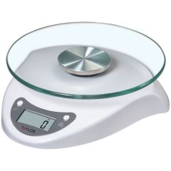 Taylor Precision Products 3831WH Digital Glass-Top Kitchen Scale