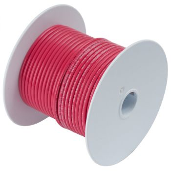 Ancor Red 18 AWG Tinned Copper Wire - 250'