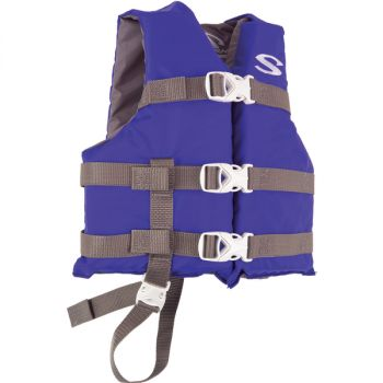 Stearns Classic Child Life Jacket - 30-50lbs - Blue/Grey