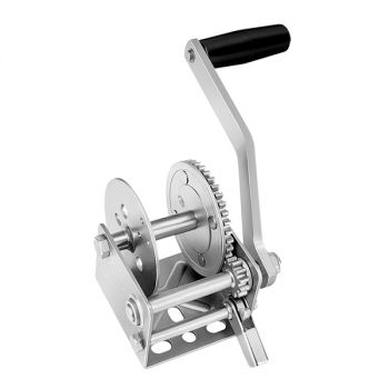 Fulton 900lb Single Speed Winch - Strap Not Included