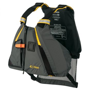 Onyx MoveVent Dynamic Paddle Sports Vest - Yellow/Grey - XS/Small