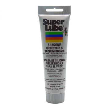 Super Lube Silicone Dielectric & Vacuum Grease - 3oz Tube