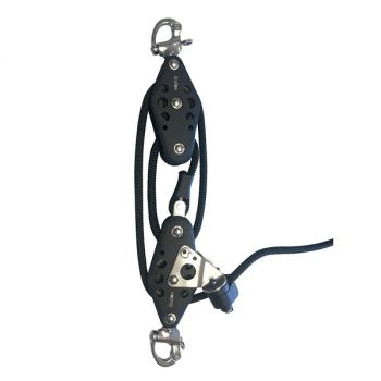 Barton Marine Size 5 4:1 Vang System, Snap Shackle Head - 40' Line