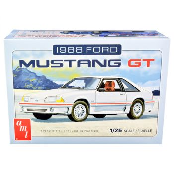 Skill 2 Model Kit 1988 Ford Mustang GT 1/25 Scale Model by AMT AMT1216M
