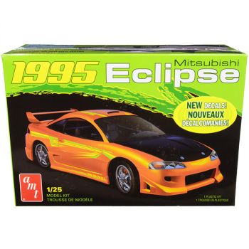 Skill 2 Model Kit 1995 Mitsubishi Eclipse 1/25 Scale Model by AMT AMT1089M