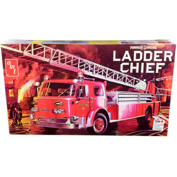 Skill 3 Model Kit American LaFrance Ladder Chief Fire Truck 1/25 Scale Model by AMT AMT1204