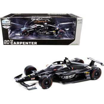 Dallara IndyCar #20 Ed Carpenter United States Space Force (USSF) NTT IndyCar Series (2020) 1/18 Diecast Model Car by Greenlight 11102