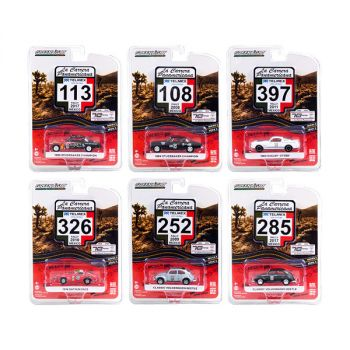 La Carrera Panamericana 70 Years Anniversary (1950-2020) Set of 6 pieces Series 3 1/64 Diecast Model Cars by Greenlight 13280SET
