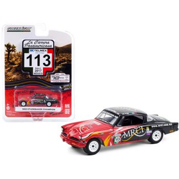 1953 Studebaker Champion #113 MRCI (Rally Mexico 2017) La Carrera Panamericana Series 3 1/64 Diecast Model Car by Greenlight 13280A