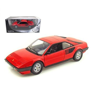 Ferrari Mondial 8 Red 1/18 Diecast Model Car by Hotwheels P9882