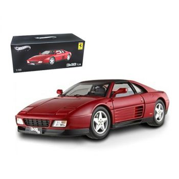 Ferrari 348 TS Elite Edition Red 1/18 Limited Edition by Hotwheels X5480