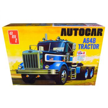 Skill 3 Model Kit Autocar A64B Tractor 1/25 Scale Model by AMT AMT1099
