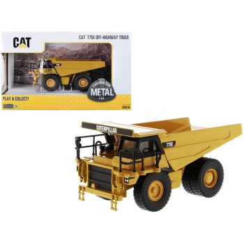 CAT Caterpillar 775E Off-Highway Dump Truck Play & Collect! Series 1/64 Diecast Model by Diecast Masters 85616