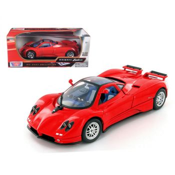Pagani Zonda C12 Red 1/18 Diecast Model Car by Motormax 73147r