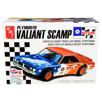 Skill 2 Model Kit Plymouth Valiant Scamp Kit Car 1/25 Scale Model by AMT AMT1171M