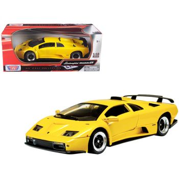 Lamborghini Diablo GT Yellow 1/18 Diecast Model Car by Motormax 73168y