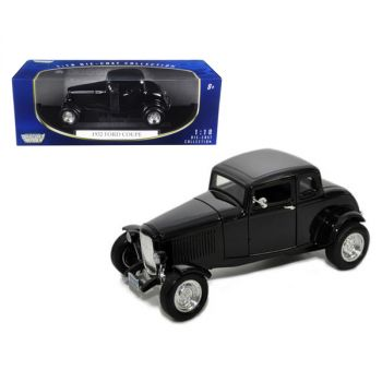 1932 Ford Coupe Black 1/18 Diecast Model Car by Motormax 73171bk