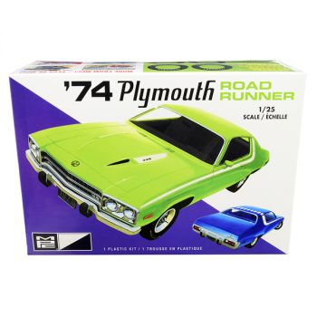 Skill 2 Model Kit 1974 Plymouth Road Runner 1/25 Scale Model by MPC MPC920M