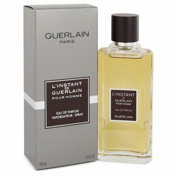 L'instant By Guerlain Eau De Parfum Spray 3.3 Oz  For Men