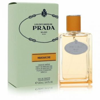 Prada Les Infusions Mandarine Eau De Parfum Spray 3.4 Oz For Women
