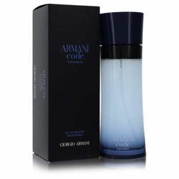 Armani Code Colonia Eau De Toilette Spray 6.7 Oz For Men