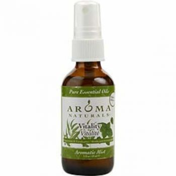Vitality Aromatherapy Aromatic Mist Spray 2 Oz. Uses The Essential Oils Of Peppermint & Eucalyptus To Create A Fragrance That Is Stimulating And Revitalizing. For Anyone