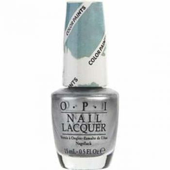 Opi Opi Silver Canvas Nail Lacquer P19--.5oz For Women