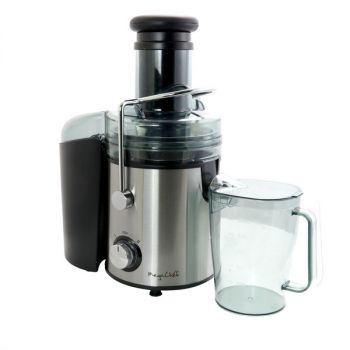 Megachef Wide Mouth Juice Extractor, Juice Machine with Dual Speed Centrifugal Juicer, Stainless Steel Juicers Easy to Clean