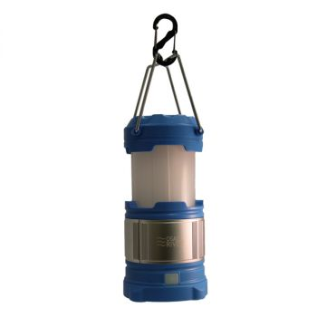 Osage River LED Lantern with USB Power Bank - Blue