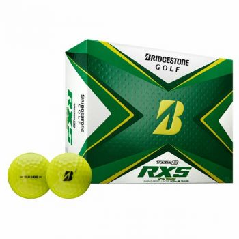 Bridgestone Tour B RXS Golf Balls-Dozen Yellow